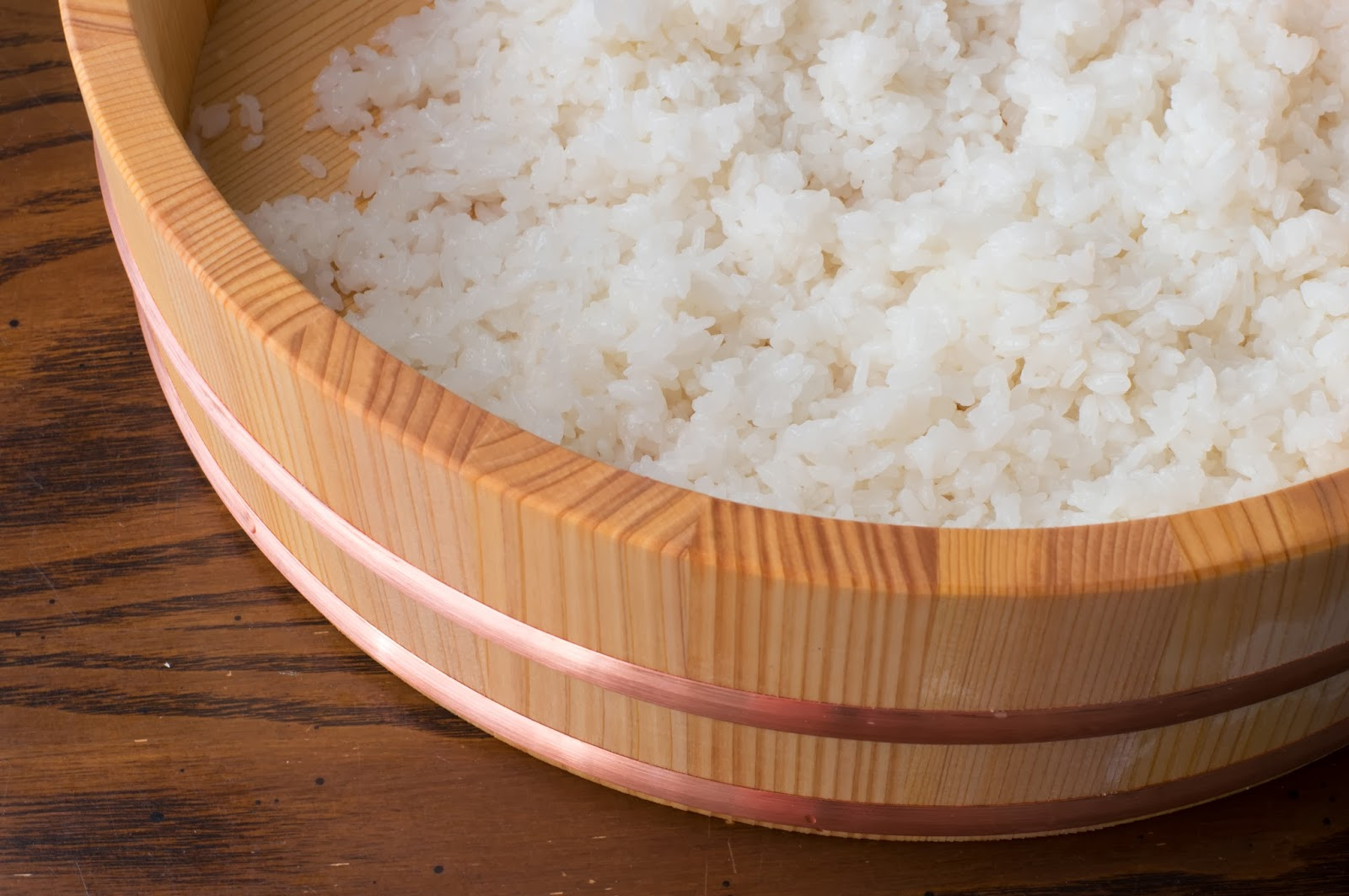 Sushi rice is very easy and quick to make since it requires only three ...