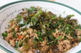 """Spicy Basil Chicken"" by Kasma Loha-unchit"