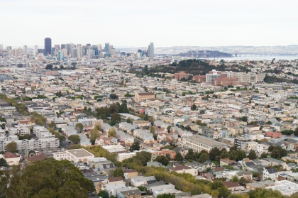 San Francisco from Bernal Heights Park